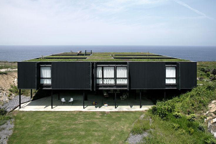 Les 44 meilleures images du tableau architecture sur for Maison container 44