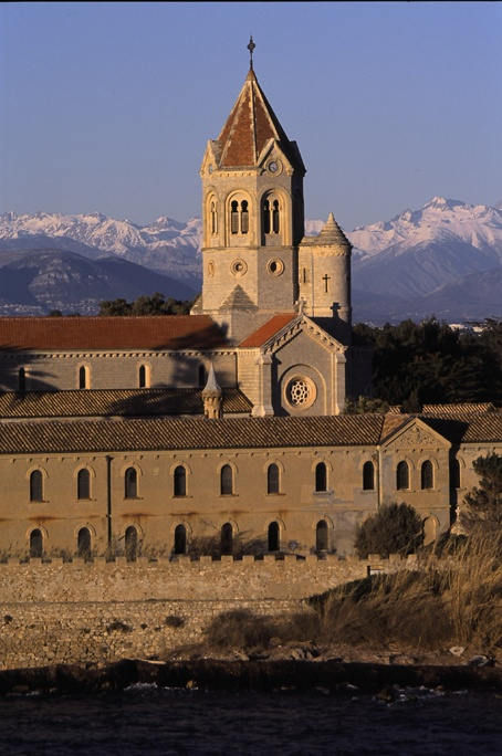Abbey, St Honorat Island (Lerins Islands, Cannes)