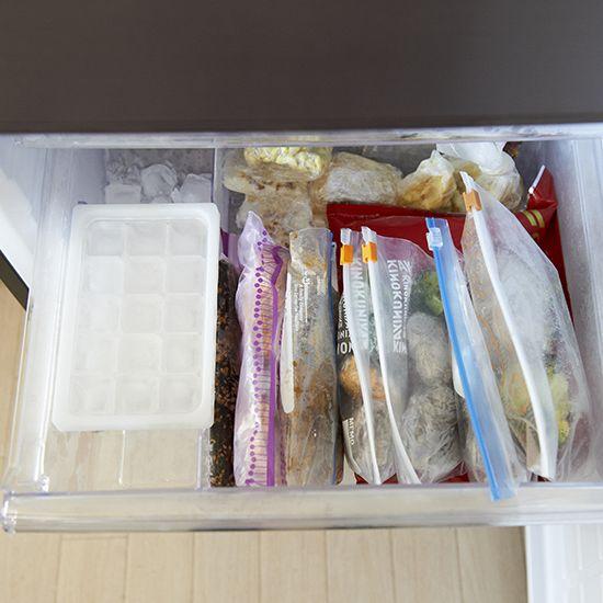 【冷蔵庫収納のマイルール】第2話:お弁当作りは、朝起きて5分で完了。冷凍室の賢い使い方。