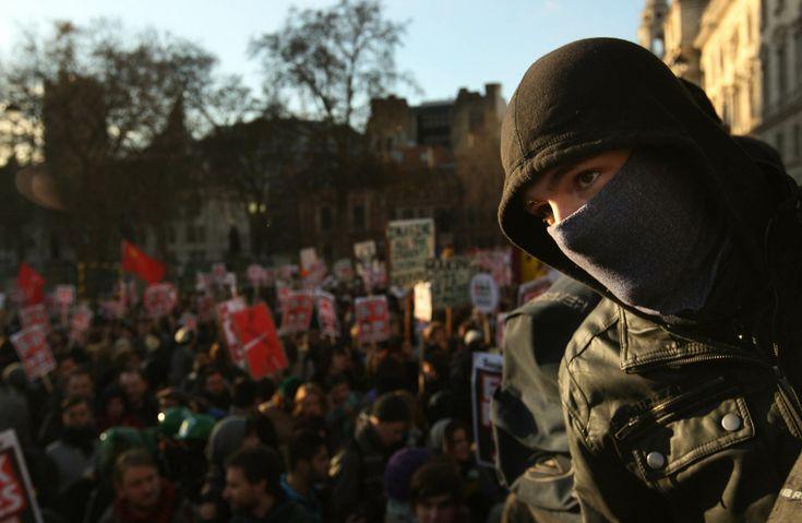 Protesta estudiantil en Londres: las mejores fotos - Taringa!
