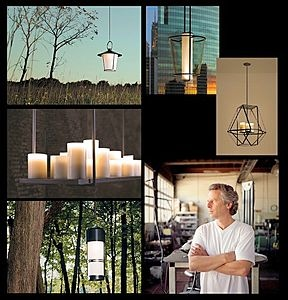 Kevin Reilly fuses the rustic, architectural, romantic and industrial, into modern design.