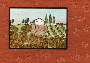 Tuscany Card by Jenny Mayes.