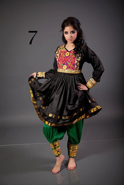 7 by Afghan Classic Dresses,