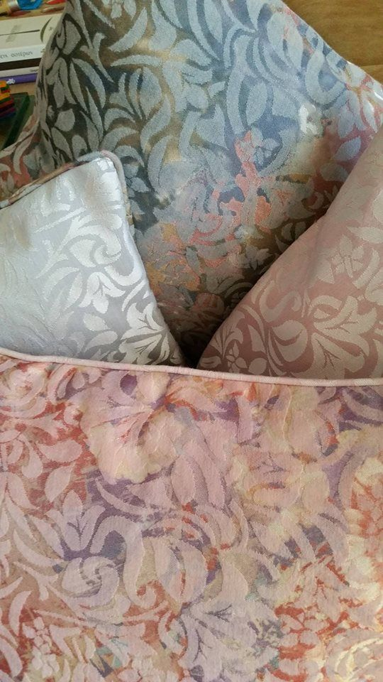 Everything you need for your home...pillows with brocard textile https://www.facebook.com/LikeThingsDecoration/