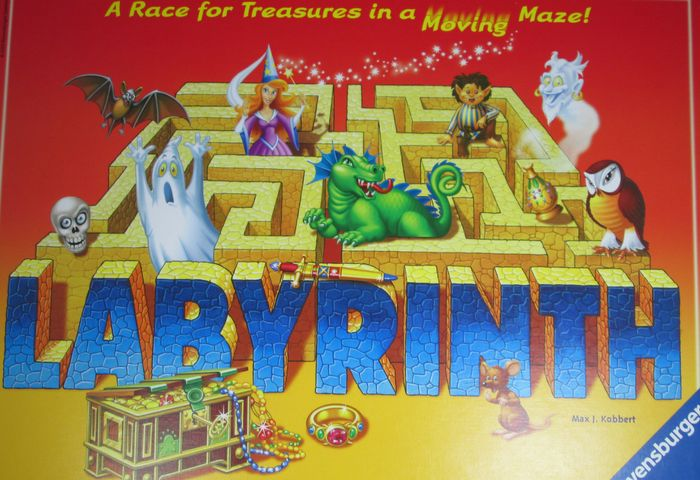 Labyrinth is an easy to learn puzzle and logic game where you need to collect your treasure before the others in a moving maze.