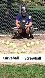 Fastpitch Softball Free Pitching Article on pitch movement and visual cues - curveball and screwball