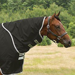 Amigo Stock Horse Turnout Neck Cover by Horseware Ireland. $46.95. The Amigo Stock Horse Turnout Neck CoverPairs perfectly with the Amigo Stock Horse Turnout to protect your horse's neck from the elements. 600D polyester outer shell is waterproof and breathable VELCRO loops attach to matching blanket for a secure fit 150g of fill keeps your horse warm and cozy all winter long Imported