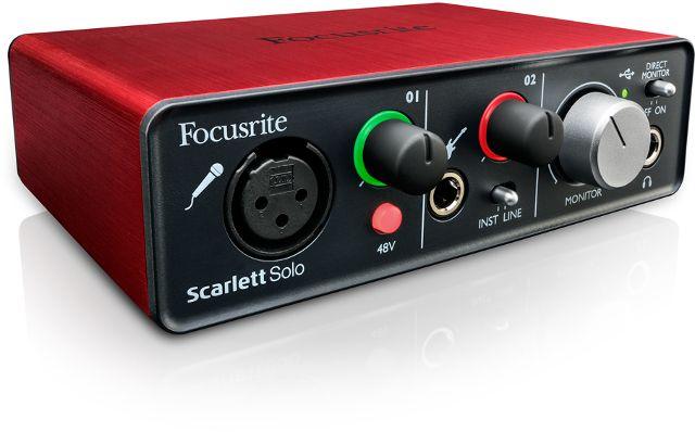 Gearjunkies.com: Focusrite announces the Scarlett Solo