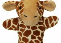 Prima mea papusa de mana Girafa | Bebeart