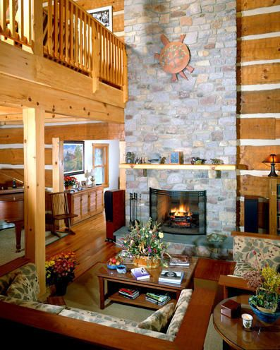 Featured In Log Home Design Ideas Magazine, November 2005 Issue   Small Log  Cabin In 2018   Pinterest   Log Homes, Log Home Designs And Home