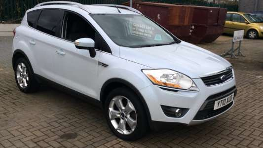 Cool Ford: Used 2010 (10 reg) White Ford Kuga 2.0 TDCi Zetec 5dr for sale on RAC Cars...  Ford Check more at http://24car.top/2017/2017/07/14/ford-used-2010-10-reg-white-ford-kuga-2-0-tdci-zetec-5dr-for-sale-on-rac-cars-ford/