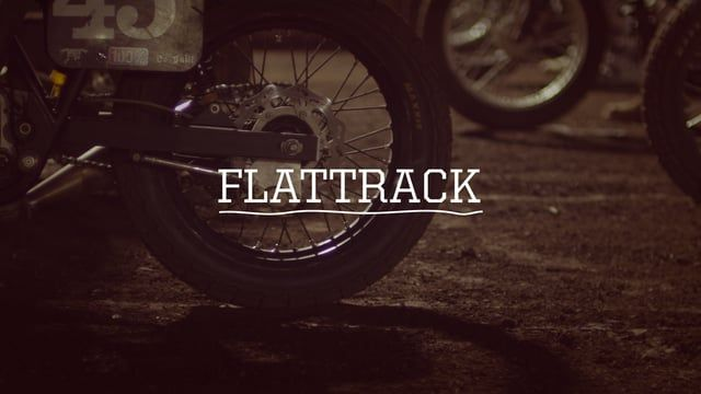 Flattrack is a short, oblique documentary about the DTRA…  ...A dedicated and diverse group of people that choose to spend their spare time and money racing motorbikes on small, circular dirt tracks - endlessly searching for the perfect corner.  Why they do it? How does it feel? What's the point?   Shot on 16mm Bolex and Red Epic with Canon K35 lenses.  Directed and Edited by Joe Marcantonio Produced by Death Spray Custom and Dial M Films Camera by Andrew Lawrence and Joe Marcanton...