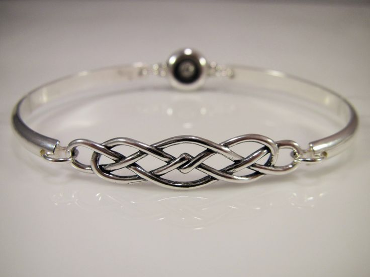 Sterling Silver Discreet Slave Bracelet / Locking Cuff w/ Celtic Knot & Allen Key Clasp - Sized to Order by SkyeWireDesigns on Etsy https://www.etsy.com/listing/249456128/sterling-silver-discreet-slave-bracelet                                                                                                                                                                                 More
