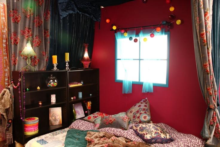 la chambre boh me par alexandre cochet id es de chambre. Black Bedroom Furniture Sets. Home Design Ideas