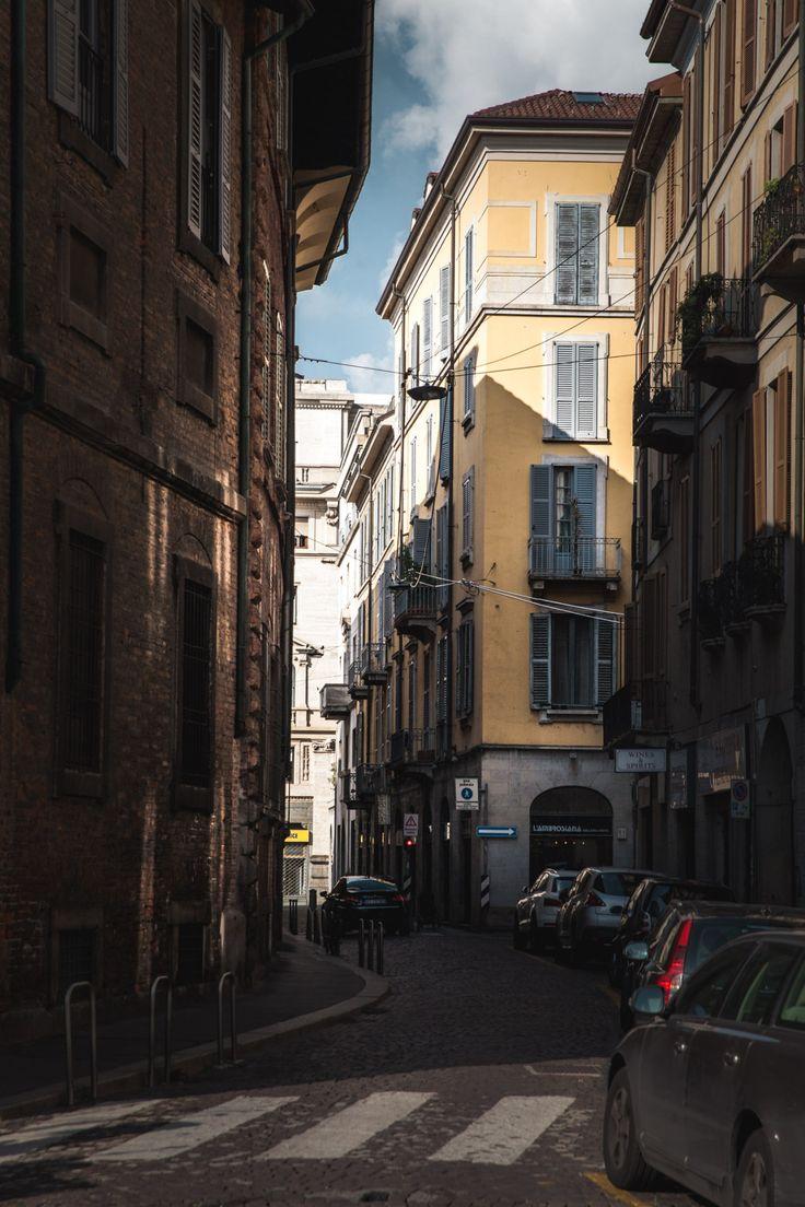 The beautiful street scenes of Milan, Italy. By... - Freddie Ardley Blog