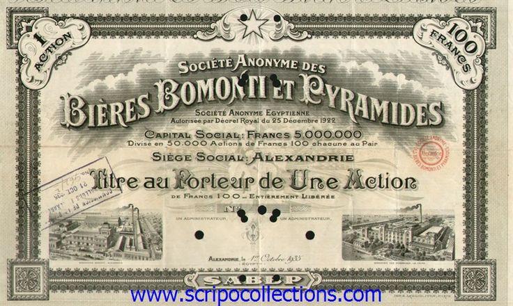 Bières Bomonti & Pyramides SAE/ SA des (fr:Belge de Brasser d'Eg)