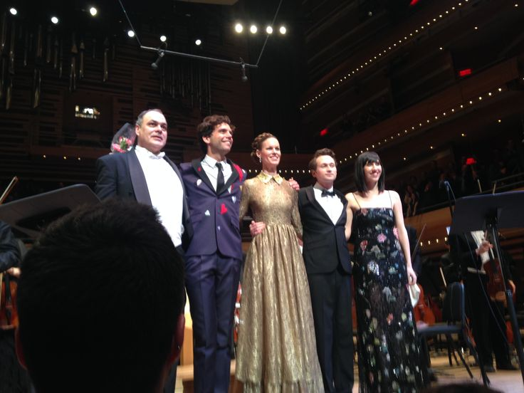 MIKA & L'Orchestre Symphonique de Montréal - 12 Feb 2015 - 3rd night - Simon Leclerc, Mika, Ida Falk-Winland, Max Taylor, and Skyler Stonestreet