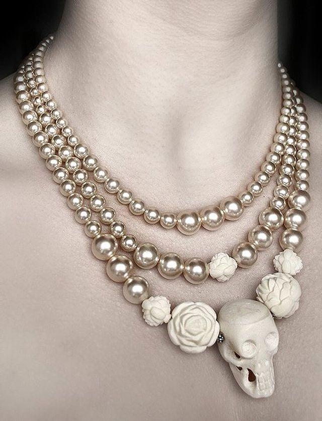 edwardian jewelry | Gothic Jewelry Blog: Decarabia.co.uk - Gothic Victorian Jewellery