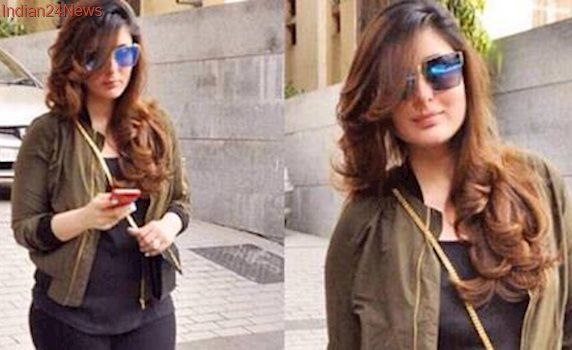 New mommy Kareena Kapoor Khan gets a glamourous makeover. See pic