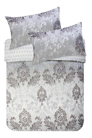 """This printed duvet cover set, made with 100% polyester microfibre is extremely soft and wrinkle resistant. Machine washable and quick to dry with minimal ironing. Single and three quarter include 1 standard pillowcase double, queen, king and super king include 2 standard pillowcases.<div class=""""pdpDescContent""""><BR /><BR /><b class=""""pdpDesc"""">Fabric Content:</b><BR />100% Polyester<BR /><BR /><b class=""""pdpDesc"""">Wash Care:</b><BR>Lukewarm machine wash</div>"""