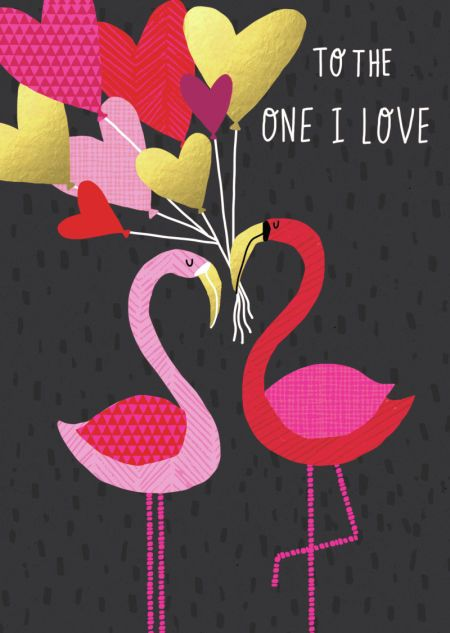 Charlotte Pepper - FLAMINGOS AND BALLOONS