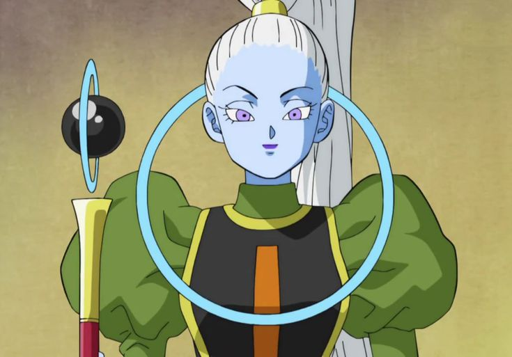 Vados is a supporting character in Dragon Ball Super. She