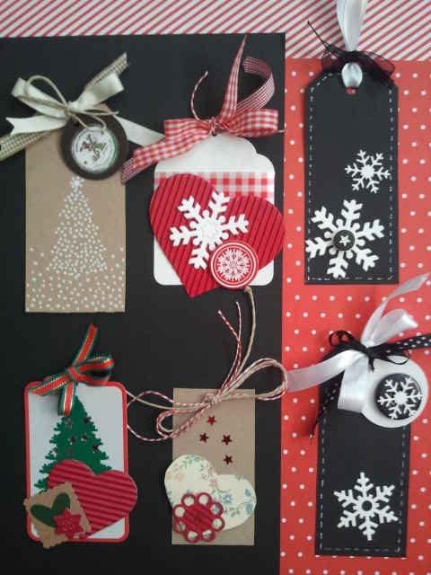 tags etiquetas navidad