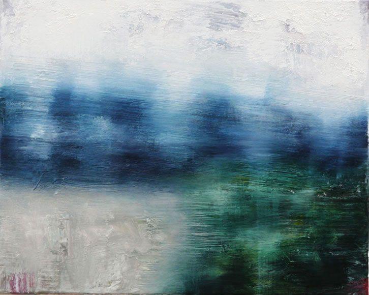 Joanna Logue, Willow - Essington III 2009  Oil on canvas 40 x 55cm SOLD