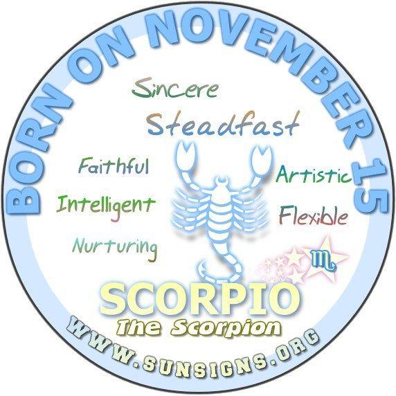 November 15 Birthday Horoscope Personality » Sun Signs