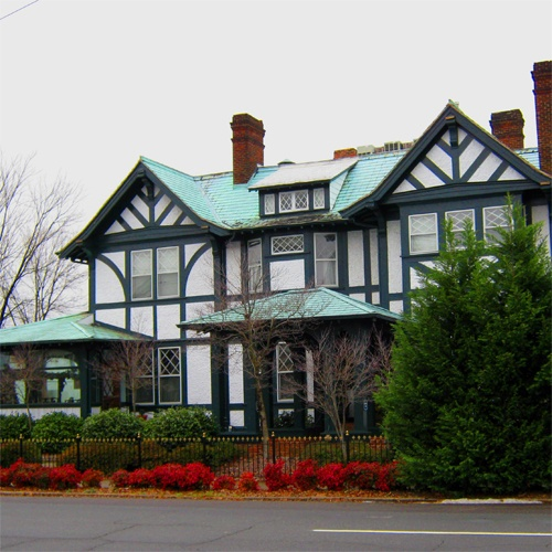 Shaffner House, Winston-Salem, NC - an awesome BB.  A good friend of mine from high school owns it now