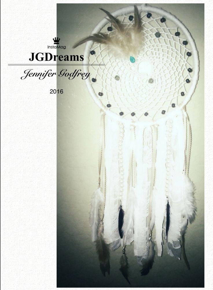 "9"" white dreamcatcher  $50"