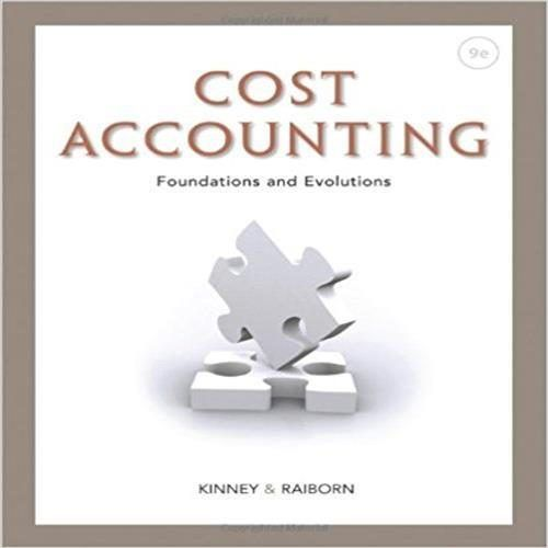 323 best test bank images on pinterest banks business and manual test bank for cost accounting foundations and evolutions edition by kinney online library solution manual and test bank for students and teachers fandeluxe Choice Image