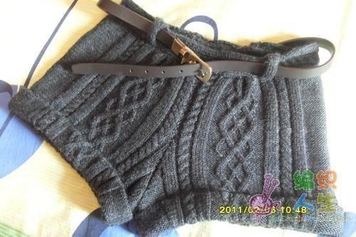 Вязаные детские шорты спицами
