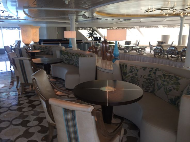 Crystal Cruises - Crystal Symphony, Palm Court