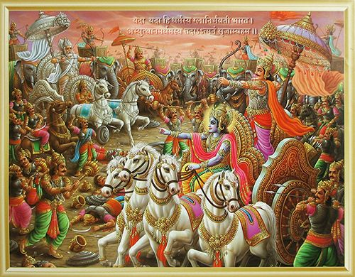 WHAT IS THE MAN BASE OF WAR OF MAHABHRAT??  In duryodhana kingdom is so powerful. all people is so happy , all meet food . cock &  all life awya some lifte style material is available ,   why war of  of mahabhrat. its not war of only lend arjun or duryodhana..the main reason of dhram , (religious) duryodhana say  without god all possible thisi big problem for Humanity so next 3000 yers  can not any human or  catcher believe god so krihna is participated  because  save dhrama & all catcher .