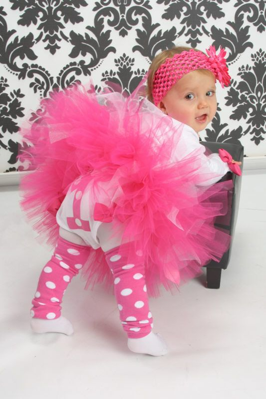 Cupcake Couture Pink Glam 1st Birthday Tutu by monkeybusiness10