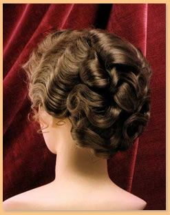 Period Wigs: 1890's Women's