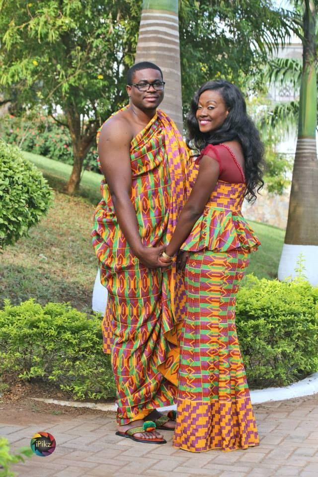 Ghanaian Bride & Groom Photo by Inspired Pictures ...