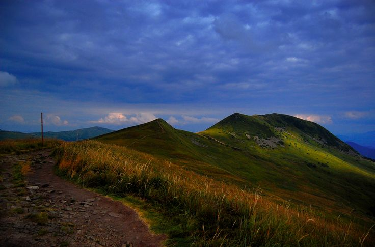 Bieszczady Mountains in the south-east Poland