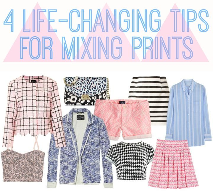 """There are a lot of rules out there about how to mix prints, but they're usually outdated and more focused on what """"doesn't"""" work than what does. Just keep these four tips in mind and you're set."""