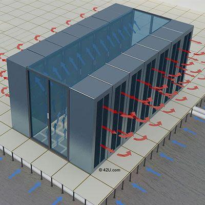 Cold Aisle Containment Diagram