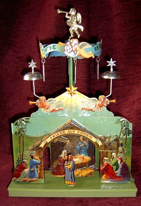 Christmas Carousel Candles