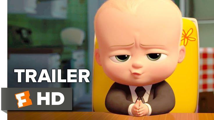 The Boss Baby Official Trailer - Teaser (2017) - Alec Baldwin Movie