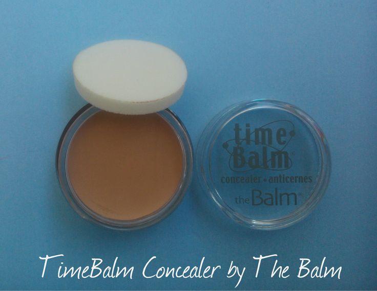 TheBalm Concealer TimeBalm http://karamellamou.blogspot.gr/2016/05/timebalm-concealer-by-balm.html#more