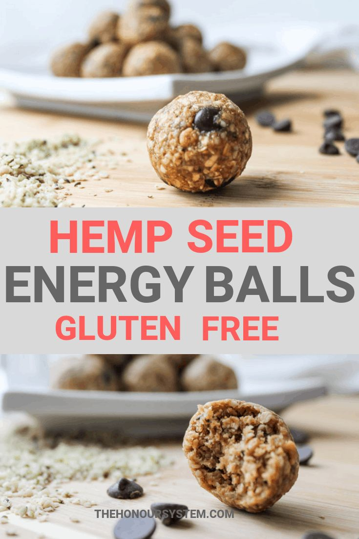 These Hemp Seed Energy Balls are a healthy, gluten free ...