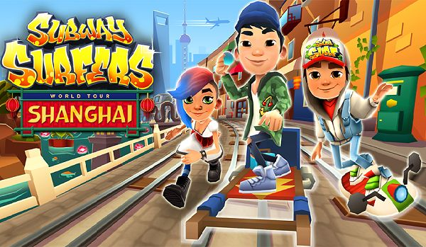 Subway Surfers Shanghai Modded Apk Unlimited Coins Free Download