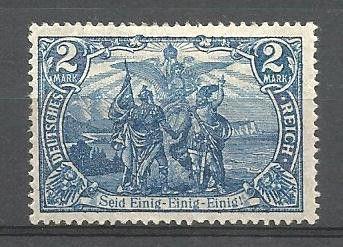 D E U T S C H E S REICH - MICHEL nr 79a MICHEL EURO 110.- ,x, (316) oppføring i Tyskland & koloniene,Europa,Frimerker kategorien på eBid Norge  http://skandinavian-stamps.ebid.net/