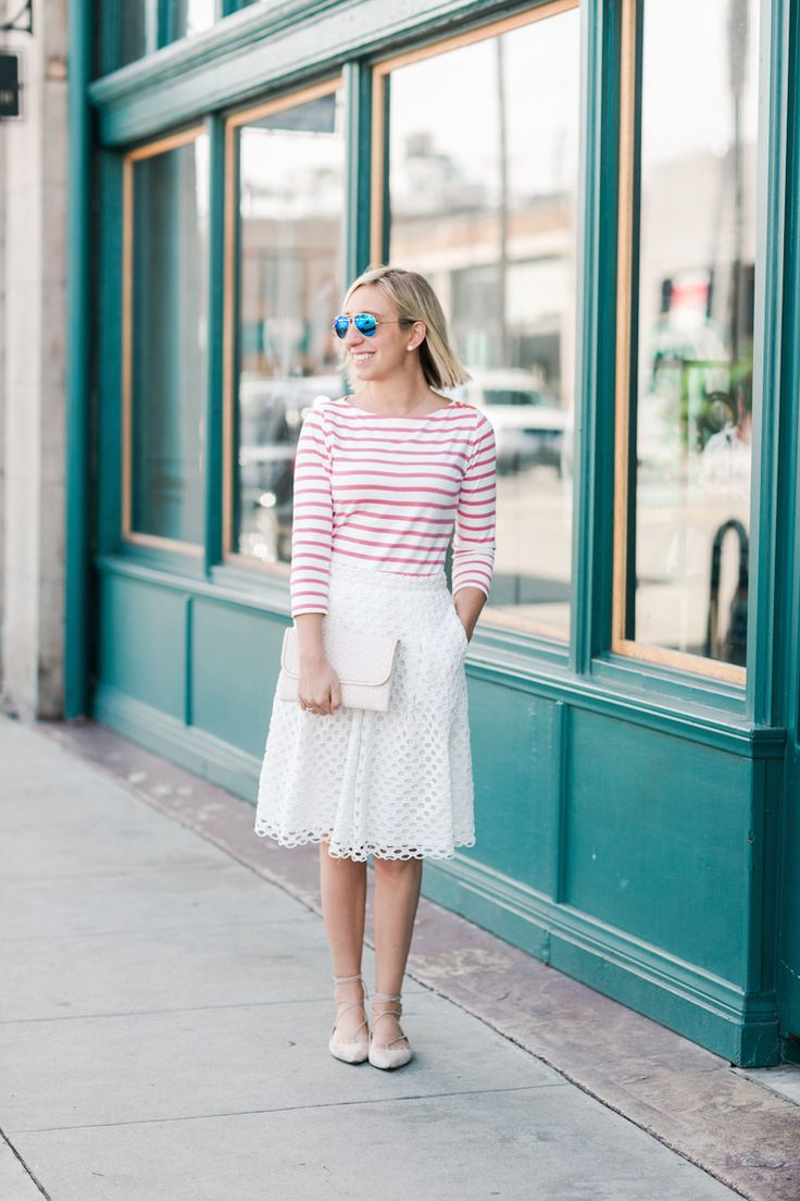 Best 25  White eyelet skirt ideas on Pinterest | Brown spring ...