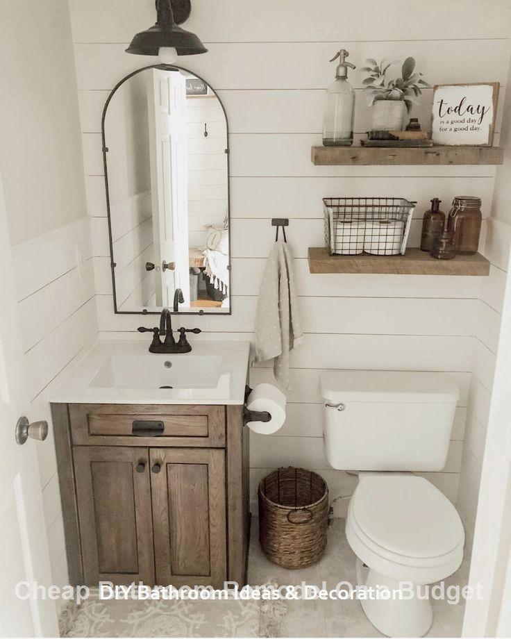 20 Cool Bathroom Decor Ideas #diybathroom