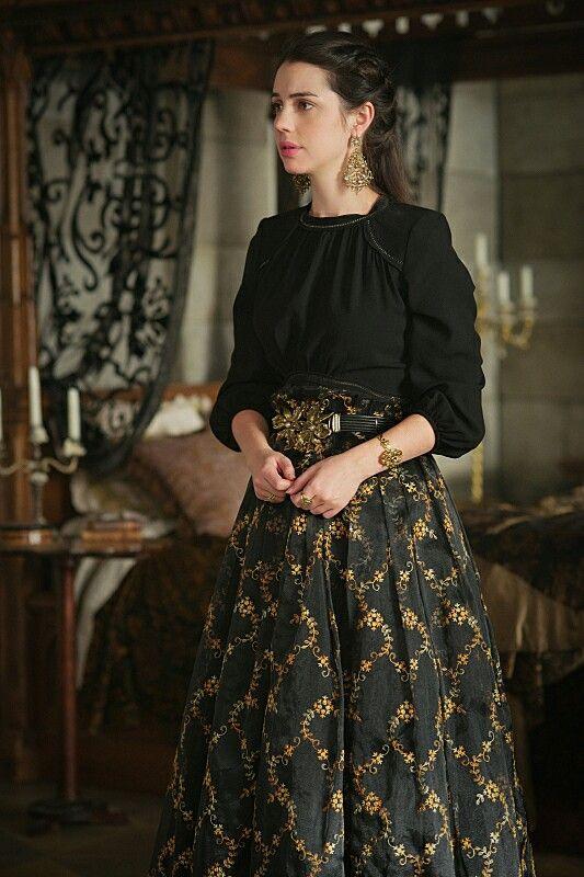 Reign, season 3, episode 10, 《Bruises that lie 》.  Queen Mary.